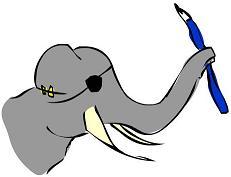 Elefante pirata